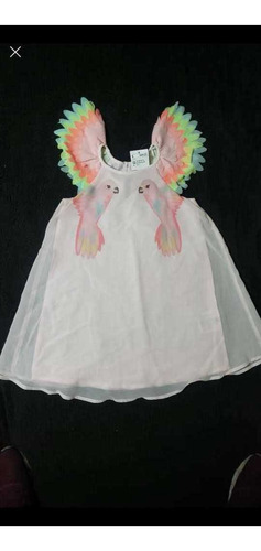 vestido h&m primaveral para  niña