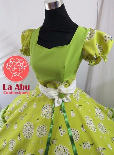vestido huasa china talla xl entrega inmediata