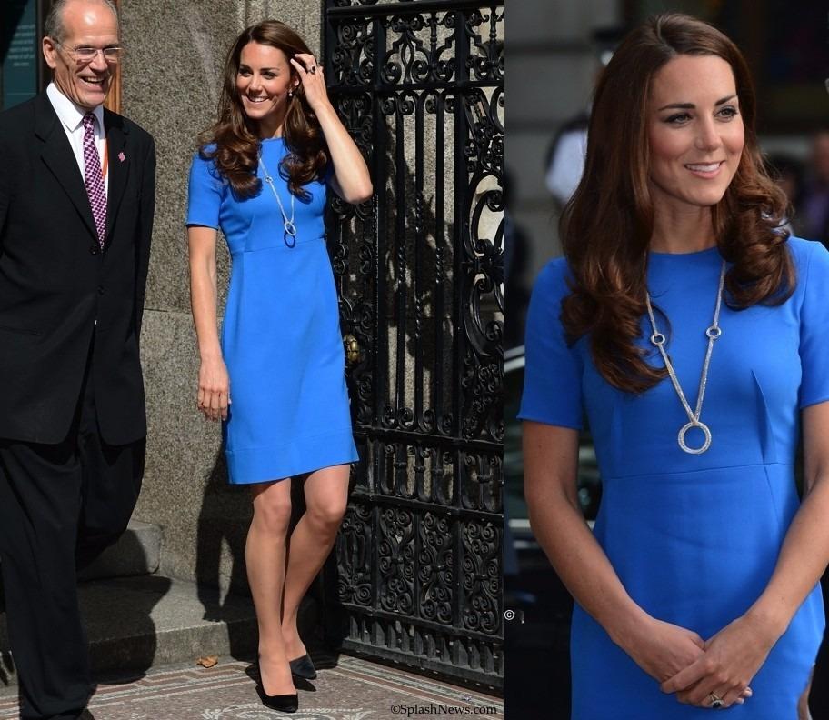 Vestido Igual Da Kate Middleton Azul E Outras Cores