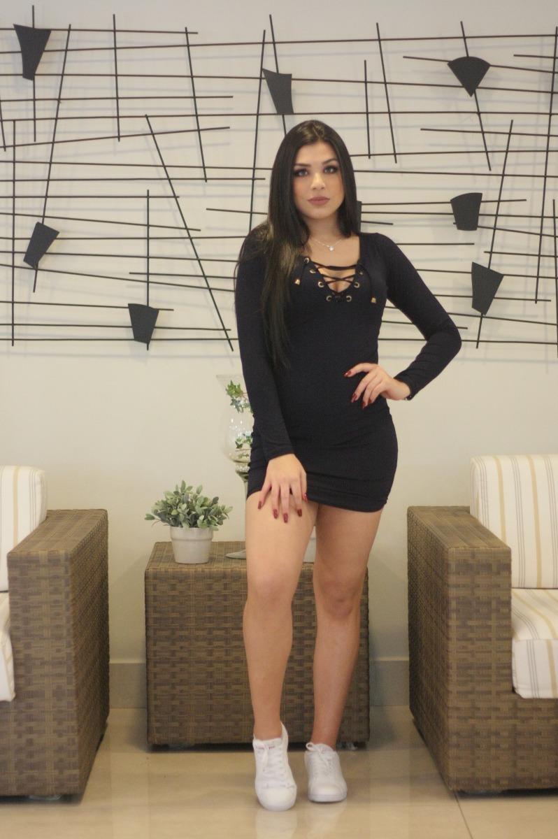 9ebfd9f88cce Vestido Ilhós De Marca Moda Feminina Roupas Femininas 2019 - R$ 49 ...