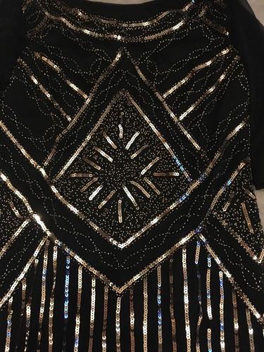 vestido importado bordado