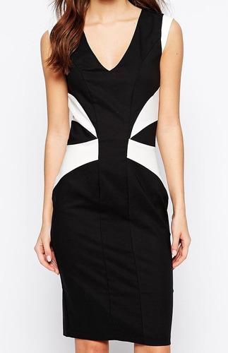vestido importado de color negro en talla s