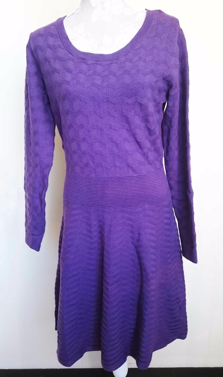 Vestido Importado De Dama Purpura Marca Covington Size M - U$S 39,00 ...