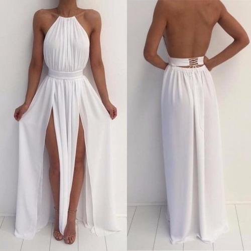 vestido importado de fiesta - coctel - bodas vestido mujer