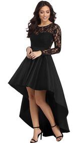 Vestido Importado Encaje Fashion Elegante Grados Cóctel Boda