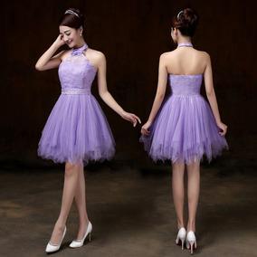 Vestidos 15 Cortos Lindos Vestidos De Mujer Lavanda En