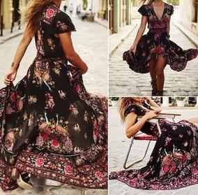05652fcb0 Importado Vestido Exclusivo Casual Hippie Chic Talles S/m/l