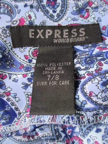 vestido importado marca express