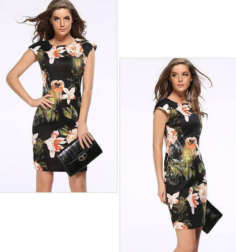 vestido importado oficina modelo chelsea qilaixing
