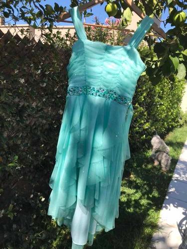vestido importado para fiesta 1 solo uso impecable