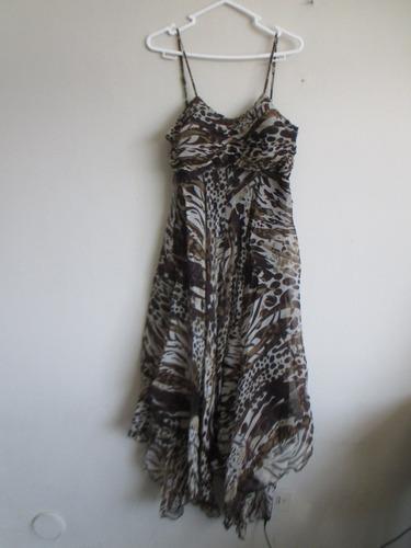 vestido importado seda s  ropa americana en remate