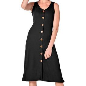 Vestidos sport color negro