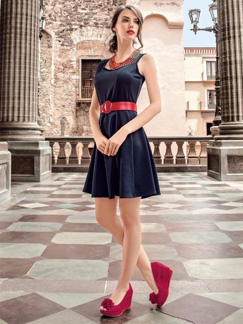 42113cacc Vestido Incognita Falda Circular Y Bershka - $ 345.00 en Mercado Libre