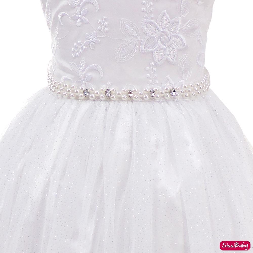 85132dc00f vestido infantil branco formatura daminha batizado promoção. Carregando  zoom.