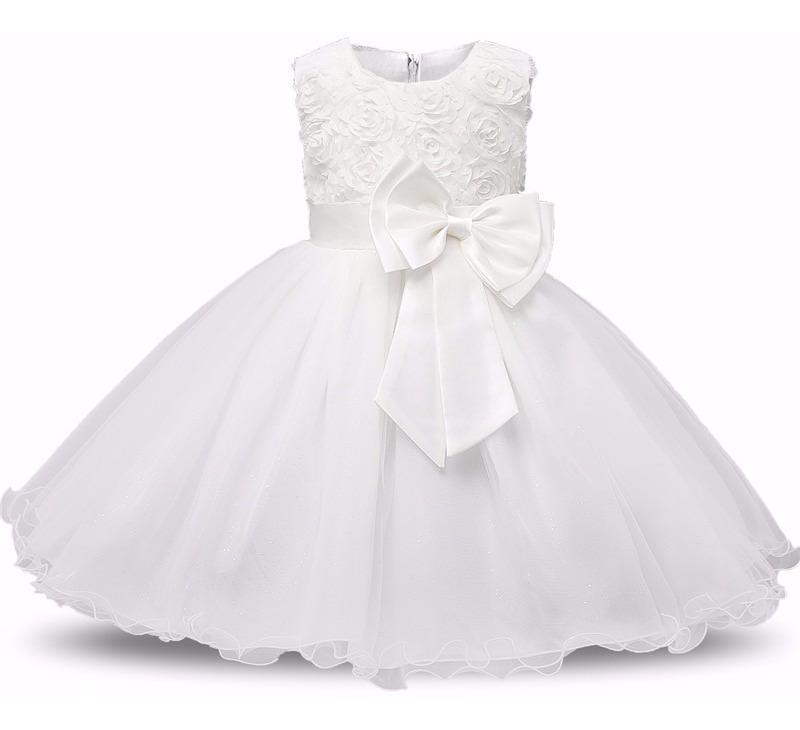 a29cd312c Vestido Infantil Casamento Dama Comunhão Batizado Oferta - R$ 89,90 ...