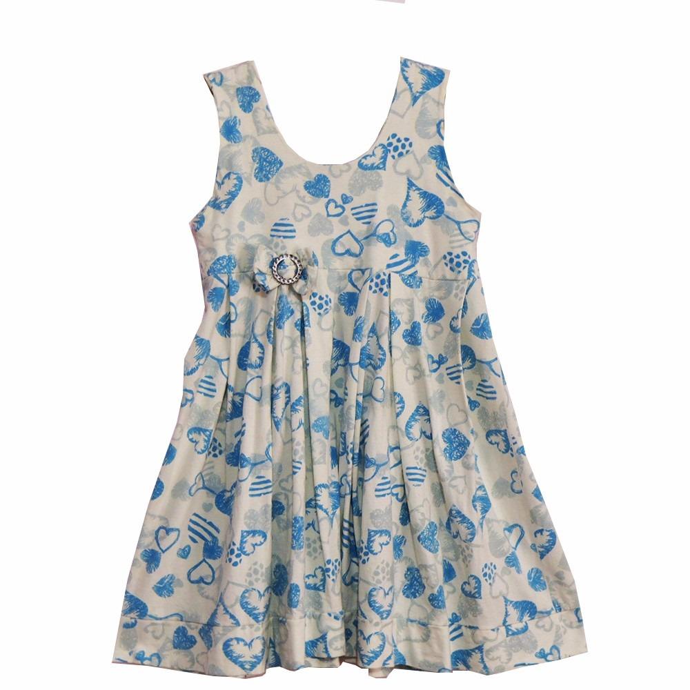 843e38cfde8d Vestido Infantil Coração Tamanho 10 - R$ 30,00 em Mercado Livre