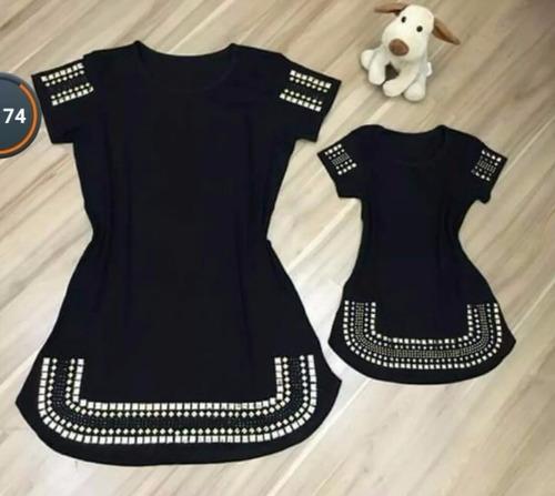vestido infantil curto pedraria moda instagram