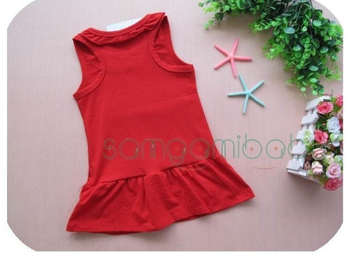vestido infantil da minnie - produto importado