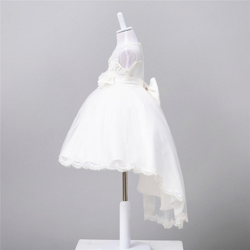 vestido infantil daminha dama honra festa casamento branco