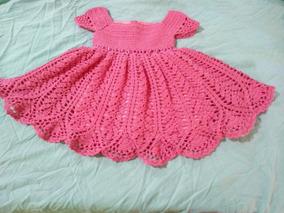 e3362fbec Vestido De Croche Infantil 1 Ano no Mercado Livre Brasil