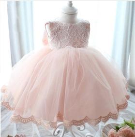 b27efea3a1a Vestido Festa 1 Ano Rosa - Calçados, Roupas e Bolsas com o Melhores Preços  no Mercado Livre Brasil