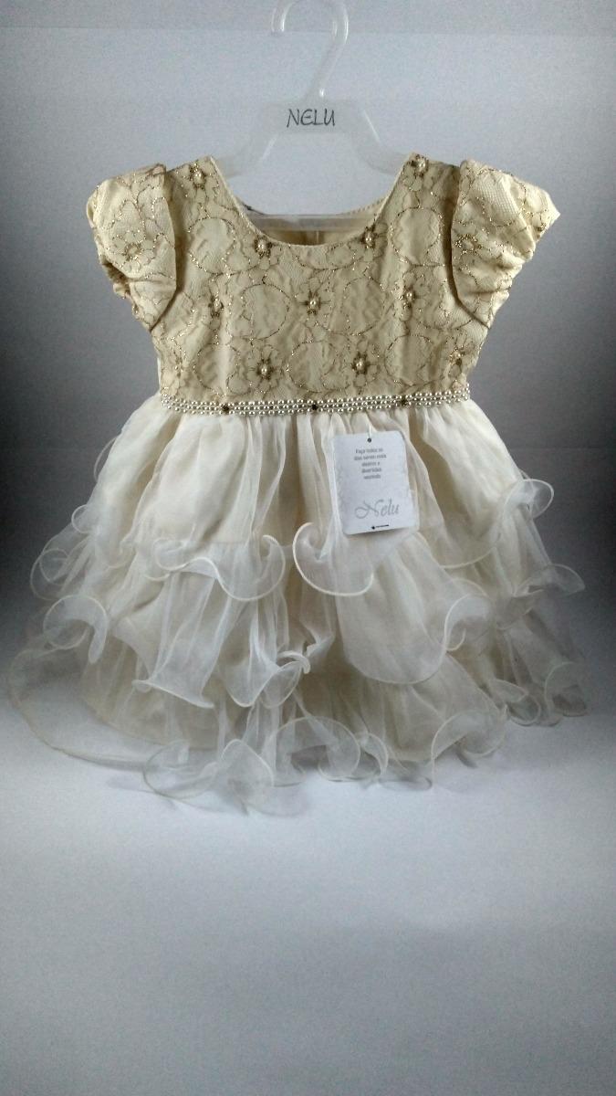 5a571b8f39 vestido infantil de festa renda luxo nelu. Carregando zoom.