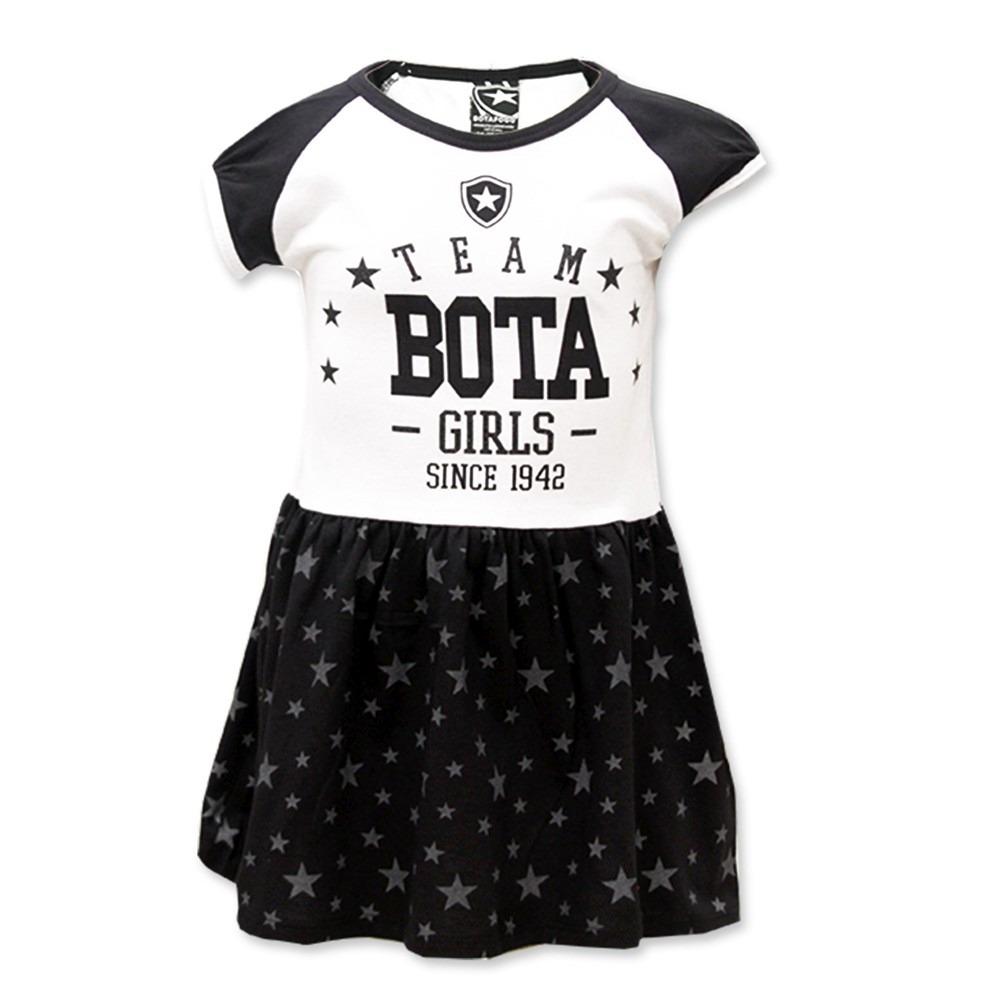 b413669a01025 vestido infantil do botafogo escudo bordado oficial. Carregando zoom.