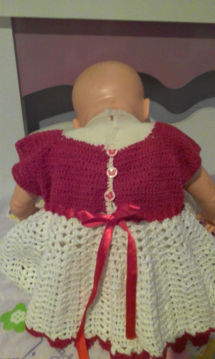 vestido infantil em croche. Carregando zoom. 708a9769ff6