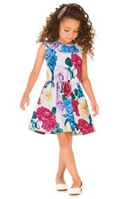 324709e77 Dinda Vestidos Infantis - Vestidos para Meninas Branco com o ...