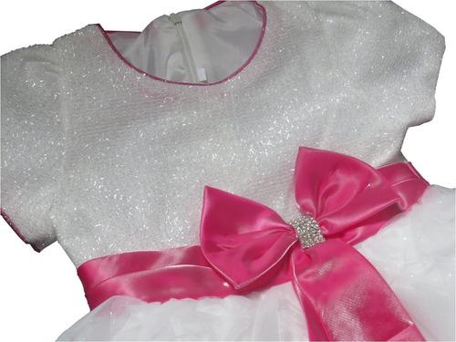 vestido infantil festa aniversário casamento luxo princesa