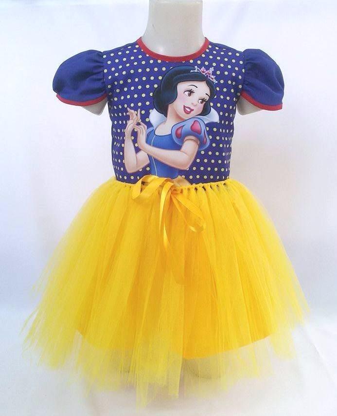18ee8687c3 vestido infantil festa branca de neve bailarina fantasia. Carregando zoom.