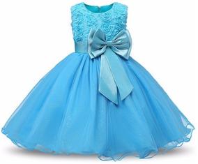 b9bc1610913 Vestido Infantil Festa Casamento Frozen Elsa Luxo