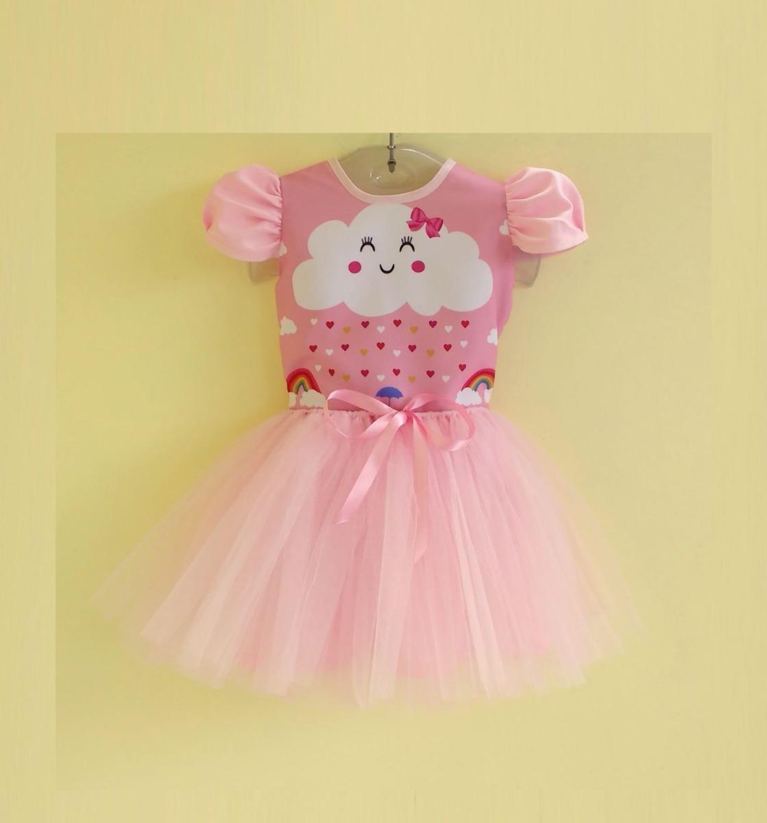 4f859b4f75 vestido infantil festa chuva de amor chuva benção bailarina. Carregando  zoom.