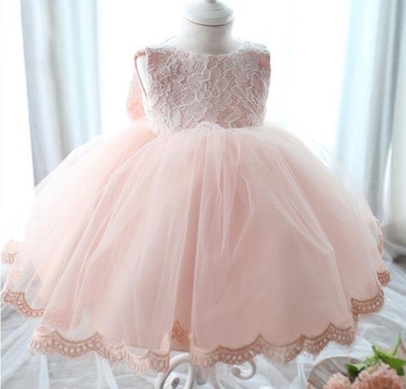 88ba4db753 Vestido Infantil Festa Criança Princesa Laço Pronta Entrega - R  125 ...