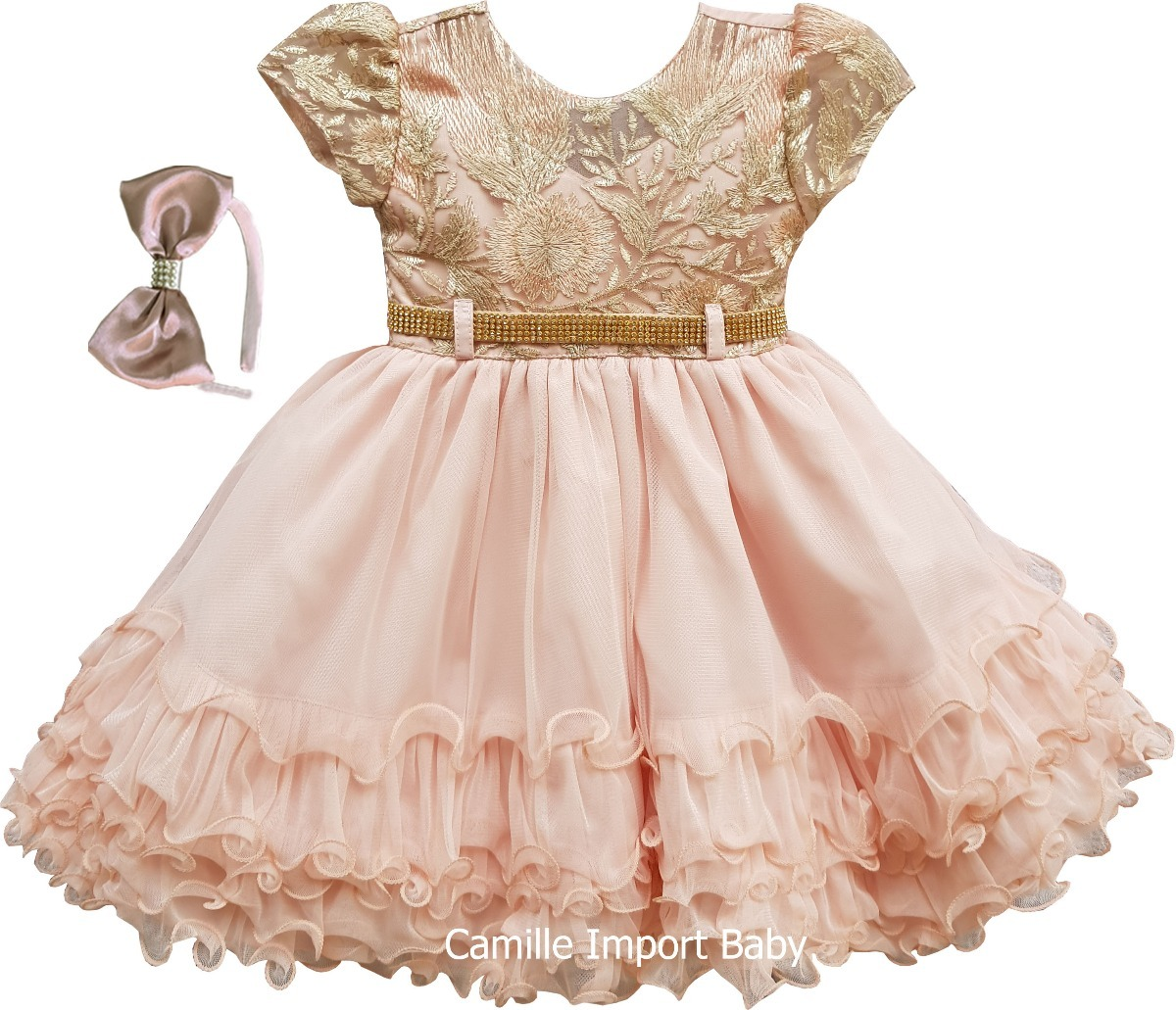 025a7a7123 vestido infantil festa criança princesa laço pronta entrega. Carregando  zoom.