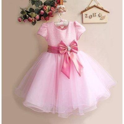 vestido infantil festa criança princesa +tiara pronta entreg