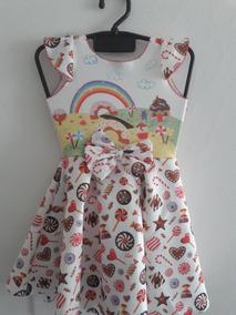 0a7d8d808 Vestido Infantil Neoprene - Calçados, Roupas e Bolsas no Mercado ...