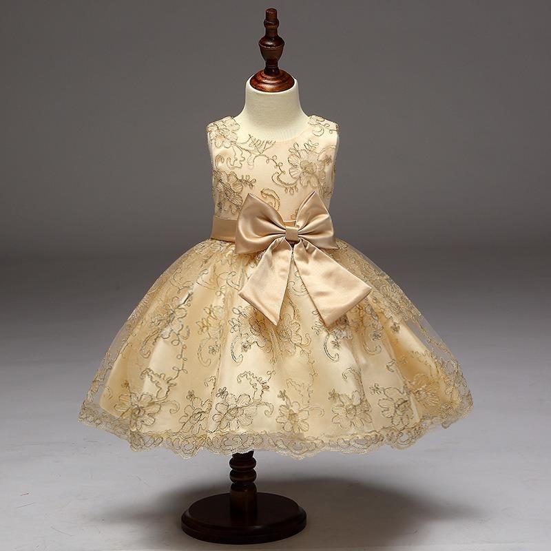 9d6b8dd89 vestido infantil festa dourado bordado dama aniversário luxo. Carregando  zoom.