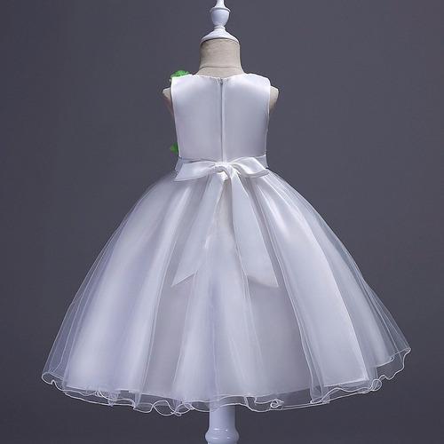 vestido infantil festa florista daminha casamento flores