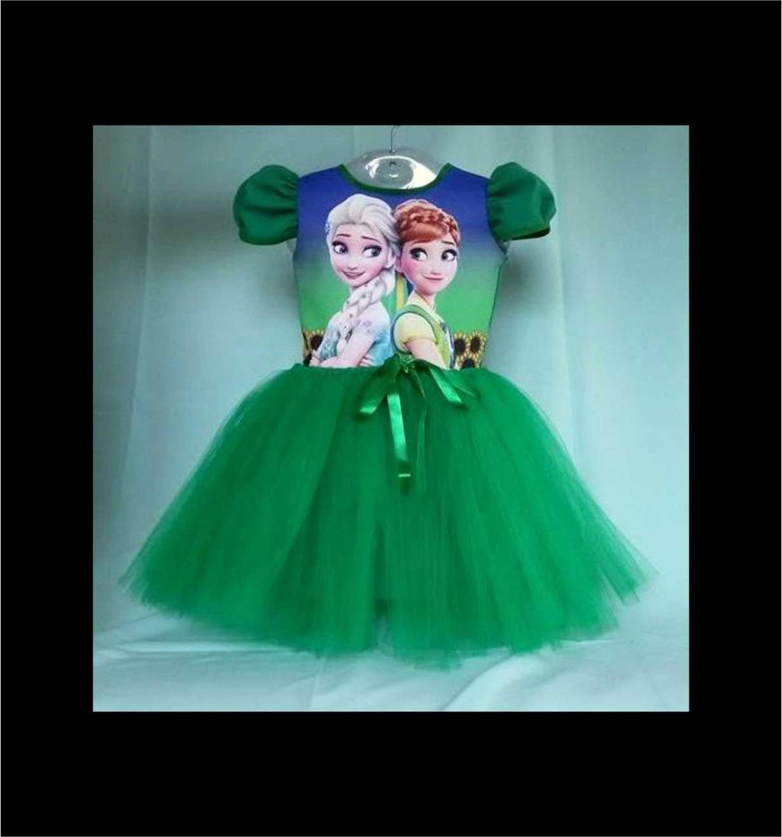 a236cb896c vestido infantil festa frozen 2 fever bailariana fantasia. Carregando zoom.