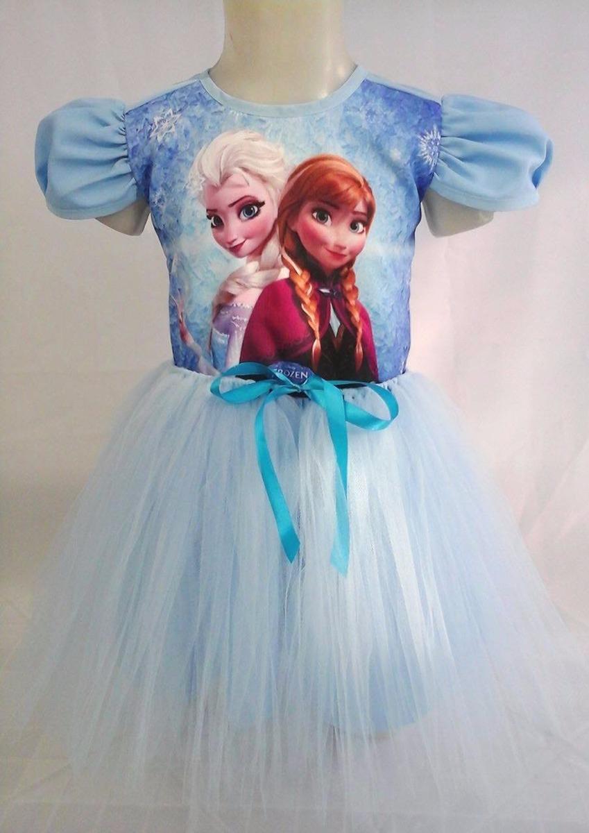 2b88556c99 vestido infantil festa frozen bailariana fantasia. Carregando zoom.