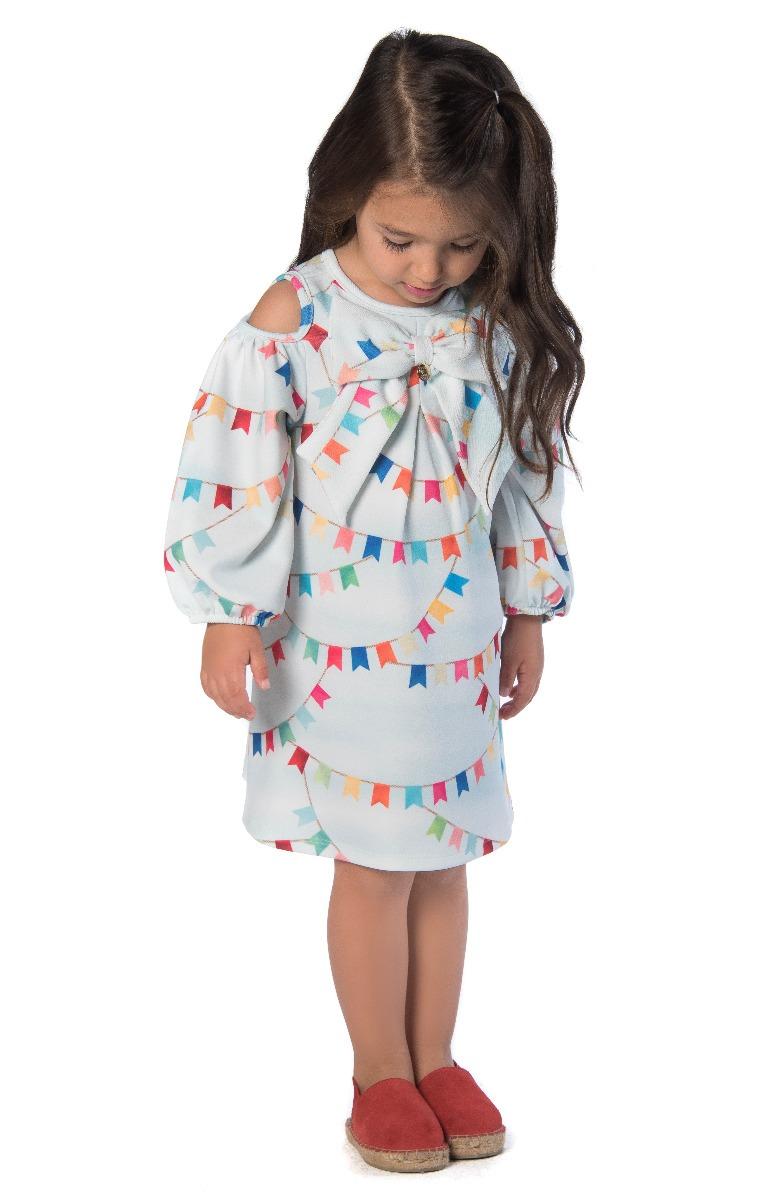 3616a9ba0 Vestido Infantil Festa Junina Mon Sucré - R$ 124,90 em Mercado Livre
