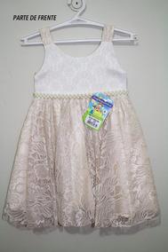 82df860ef0 Vestido Infantil Estampa Girassol - Vestidos De Festa Curtos Nude no ...
