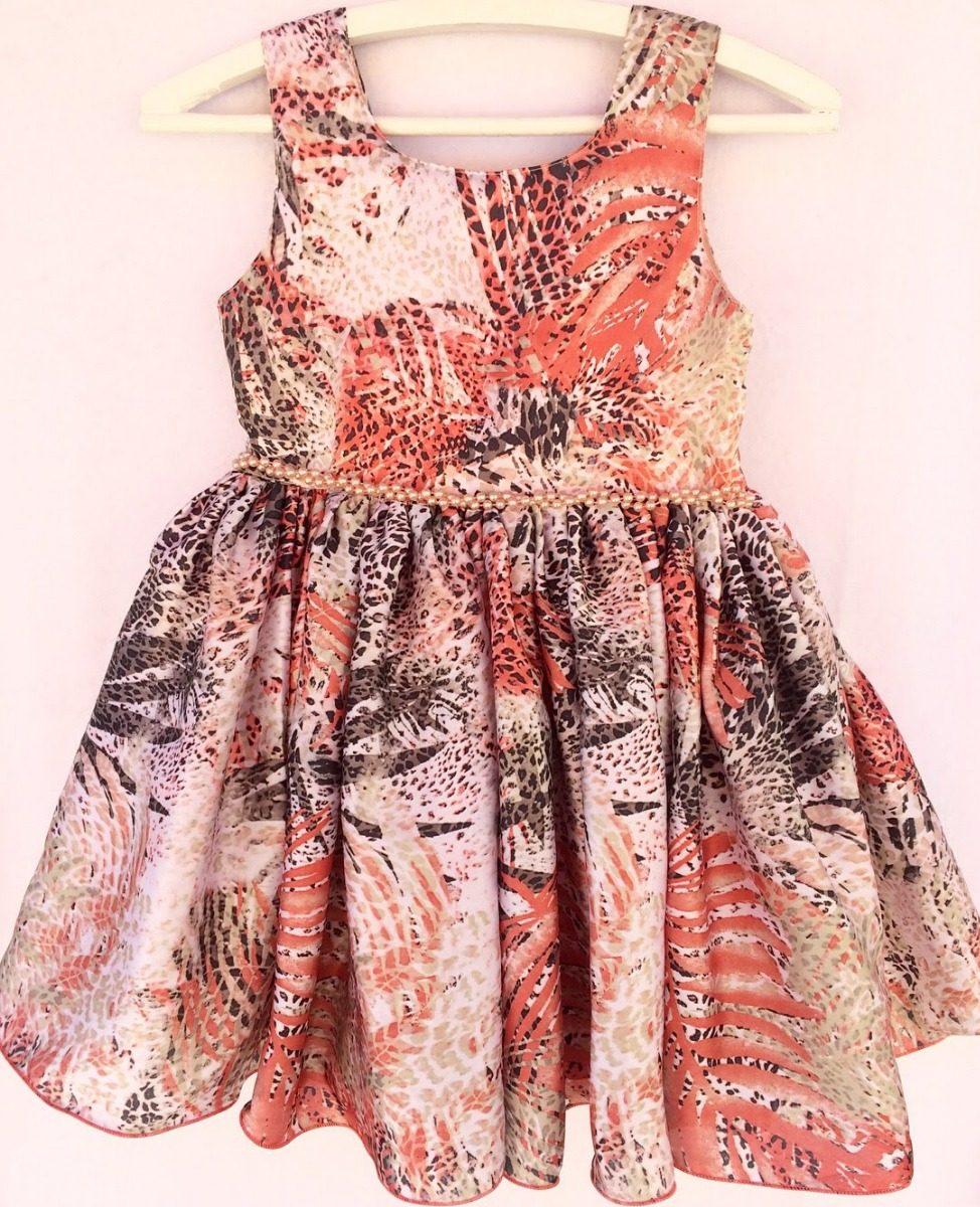 903a1738ec51 vestido infantil festa luxo menina ed limitada tamanho 10. Carregando zoom.