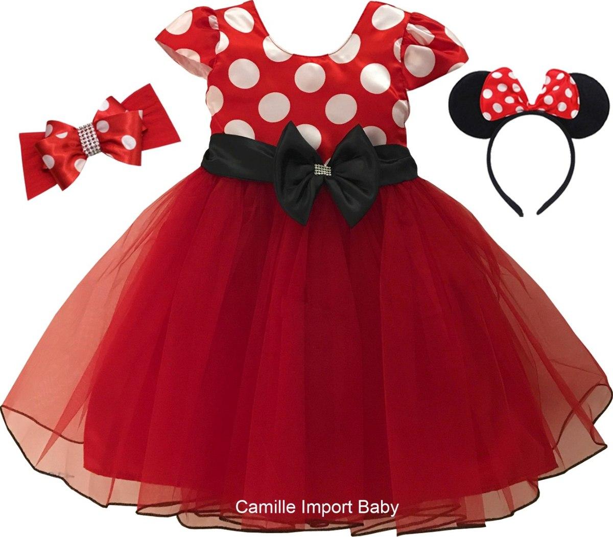 Foto de vestido da minnie