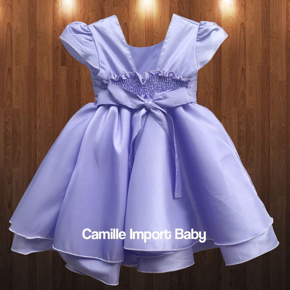 Vestido Infantil Festa Luxo Princesa Sofia Com Tiara - R$ 85,00 em ...