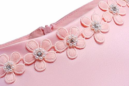 vestido infantil festa rosa meninas c laço 4 6 8 10 12 anos