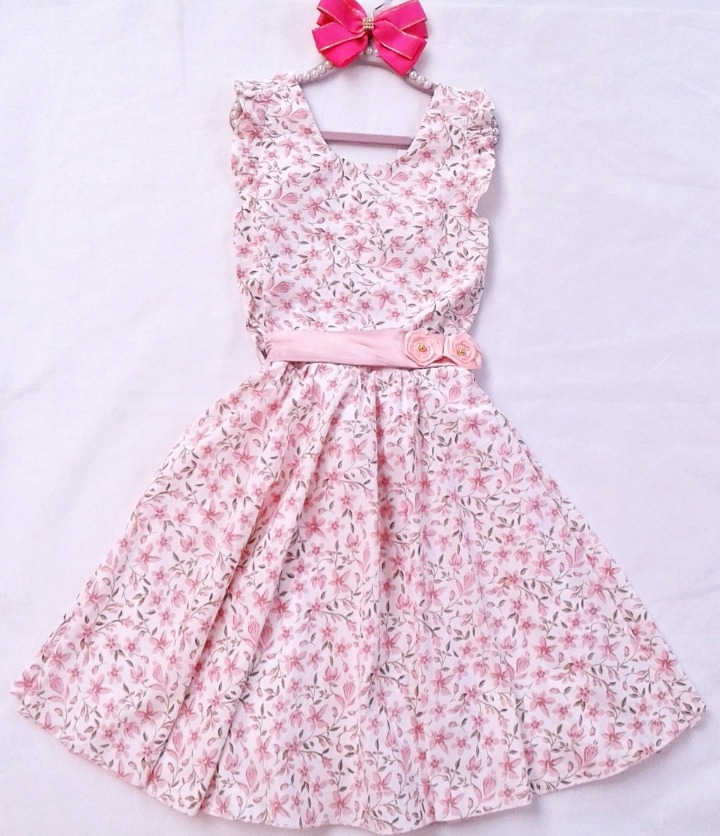 9dc1b98f0ef1 Vestido Infantil Floral, Festa, Princesa, Tamanho 10 - R$ 120,00 em ...