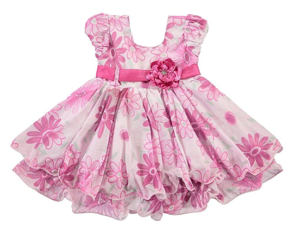 4b1c646b7 vestido infantil floral rosa festa laço lig lig. Carregando zoom.