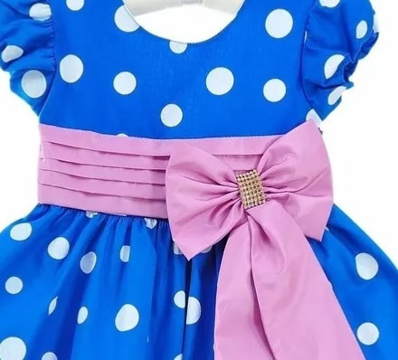 15b747cba0 Vestido Infantil Galinha Pintadinha Luxo Rosa Com Faixa - R  89